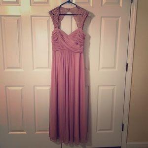 Xscape floor length dress